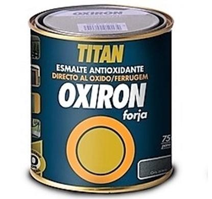 Εικόνα της Αντισκωριακό Χρώμα με έντονα ρινίσματα μετάλλου Oxiron Forja TITAN