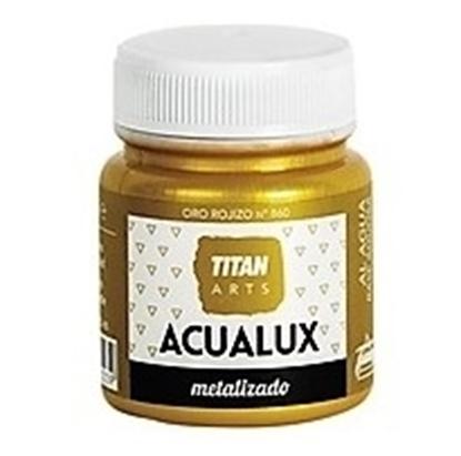 Εικόνα της Χρώμα Μεταλλικών Αποχρώσεων Νερου - Acualux TITAN